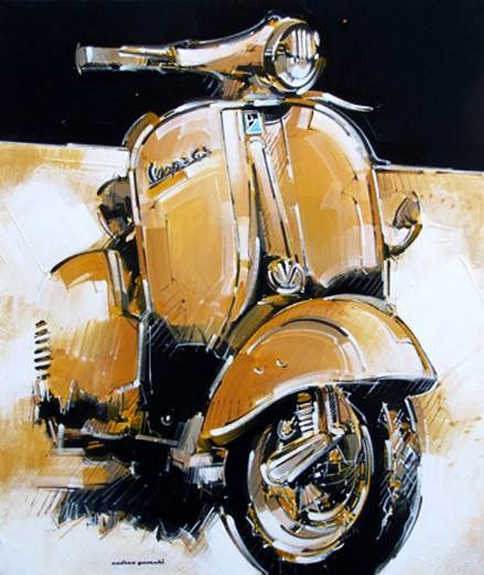 This is just like my Vespa Rally!!!!
