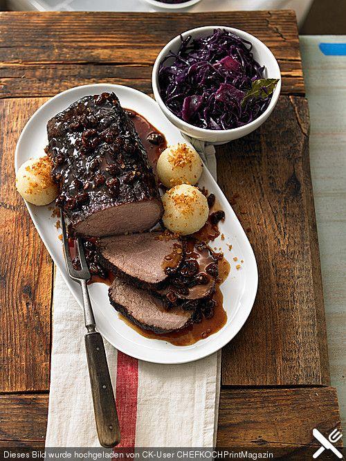 Richtig rheinischer Sauerbraten, ein schönes Rezept aus der Kategorie Rind. Bewertungen: 268. Durchschnitt: Ø 4,6.