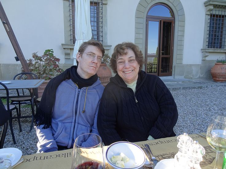 Robert and Naomi at Villa Campestri #oliveoil #AmorOlio