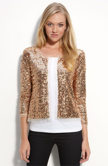 gold sequin jacket...think i need this...