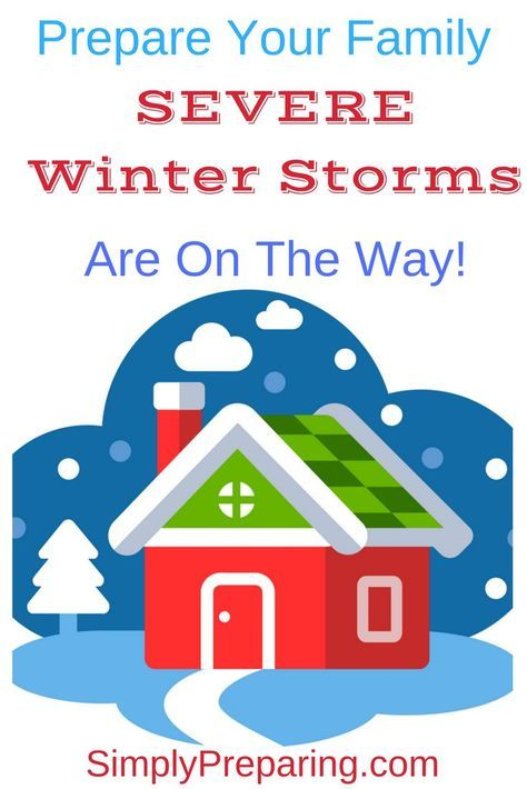 #winter storm #survival depends on #preparedness. Here's a #checklist of #preppers #survivalist gear and skills to ensure your family is successful surviving winter storms