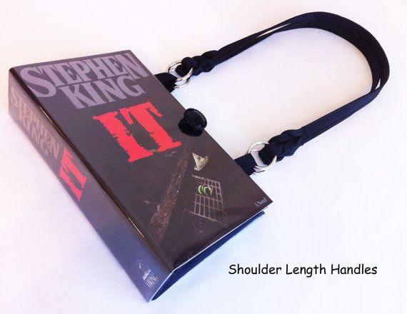 Stephen King IT Book Purse  Stephen King by NovelCreations on Etsy