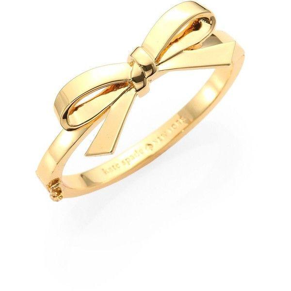 Kate Spade New York Finishing Touch Bangle Bracelet found on Polyvore