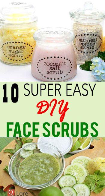 10 Super Easy DIY Gesichtspeelings – Q Lore