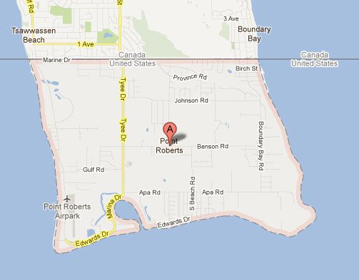 Point Roberts, An Isolated American Exclave Attached to Canada - I want to go there!