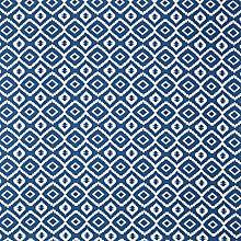 Buy John Lewis Nazca Curtain, Indian Blue Online, 16 per metre johnlewis.com