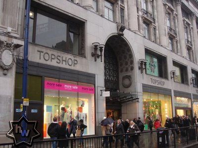 Shopped the TopShop in London.