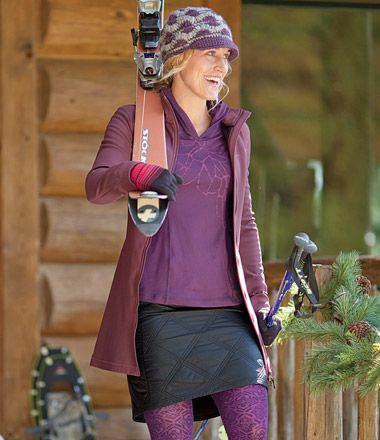 Bun Warmer Skirt from titleninesports: Repellent Water, Winter Skirts, Dresses Skirts, Buns Warmers, Zip Pockets, Mountain Hardwear, Warmers Skirts, Water Resistance Nylons, Skirts Add