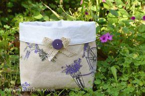 Tutorial gratuito di cucito creativo per cucire a macchina un sacchetto portapane con cui abbellire la tavola Pasquale, in vista della primavera. Facile.
