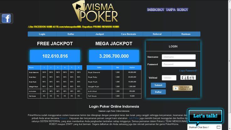 Wismapoker.com Situs Agen Judi Poker 88 cc online uang asli indonesia memiliki link alternatif yaitu wismanegara.com, wismanegara.com dan wismapoker88.com.
