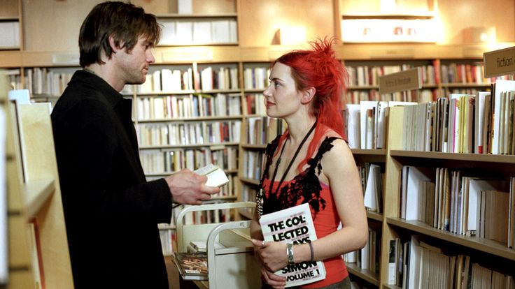 The Top 50 Date-Night Ideas of All Time. Wander the bookstore. Your Kindle has tons of memory. but it sure isn't good at making them. Take a clue from the scene in Eternal Sunshine of the Spotless Mind when Joel (Jim Carrey) and Clementine (Kate Winslet) continually re-meet and have conversations among the shelves. Our suggestion: Start at the the travel section and get to know each other even better by talking dream trips.