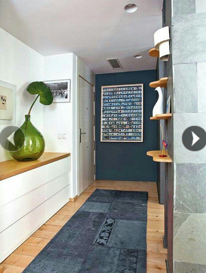 Recibidor azul pintura pinterest paleta de colores - Colores para recibidores ...