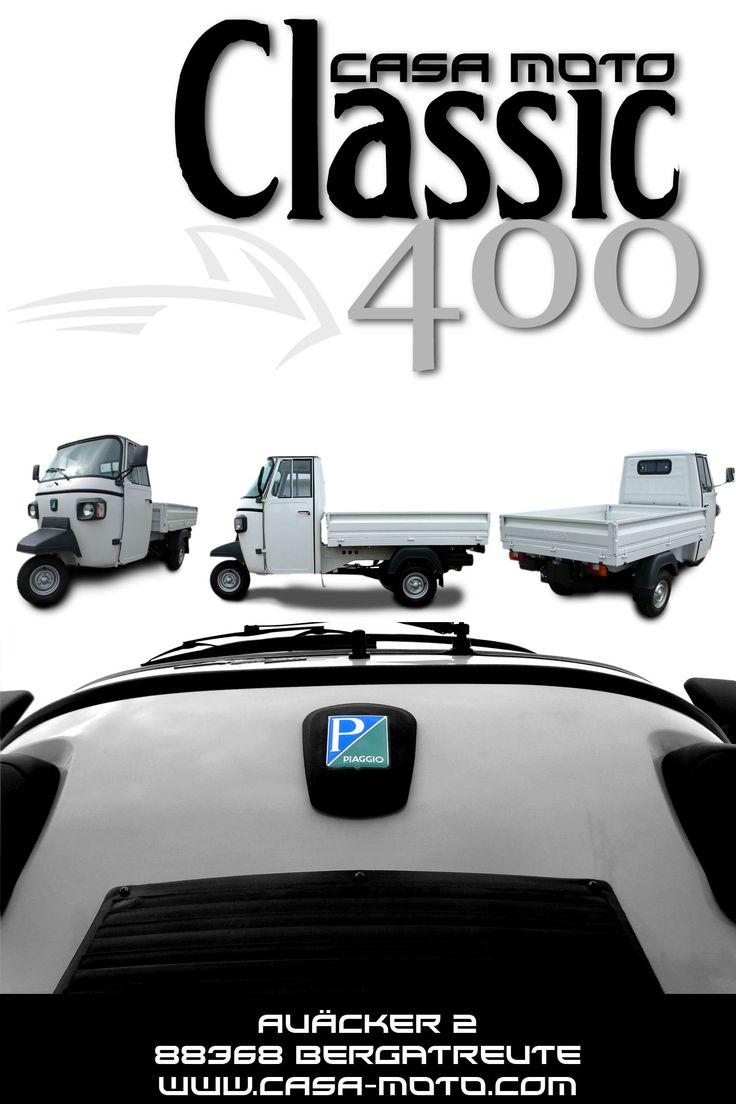 1000 images about piaggio ape classic 400 on pinterest. Black Bedroom Furniture Sets. Home Design Ideas