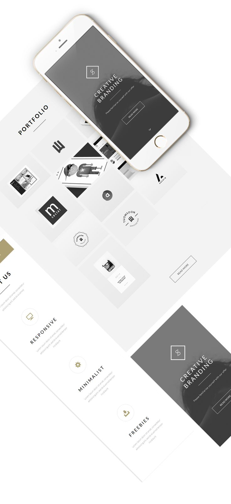 Free responsive modern and clean and JqueryOne
