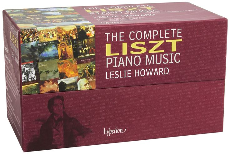 Liszt: The Complete Piano Music, performed by Leslie Howard (99 CD set)