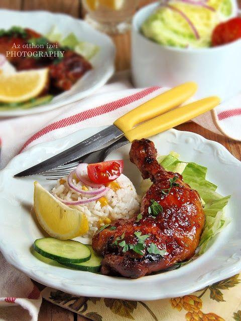 Az otthon ízei: Ázsiai stílusú chilis-mézes csirkecomb