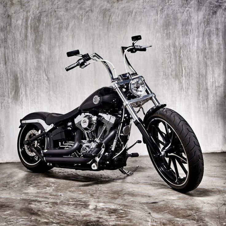 Harley Breakout With Apes Harley Davidson Bikes Harley