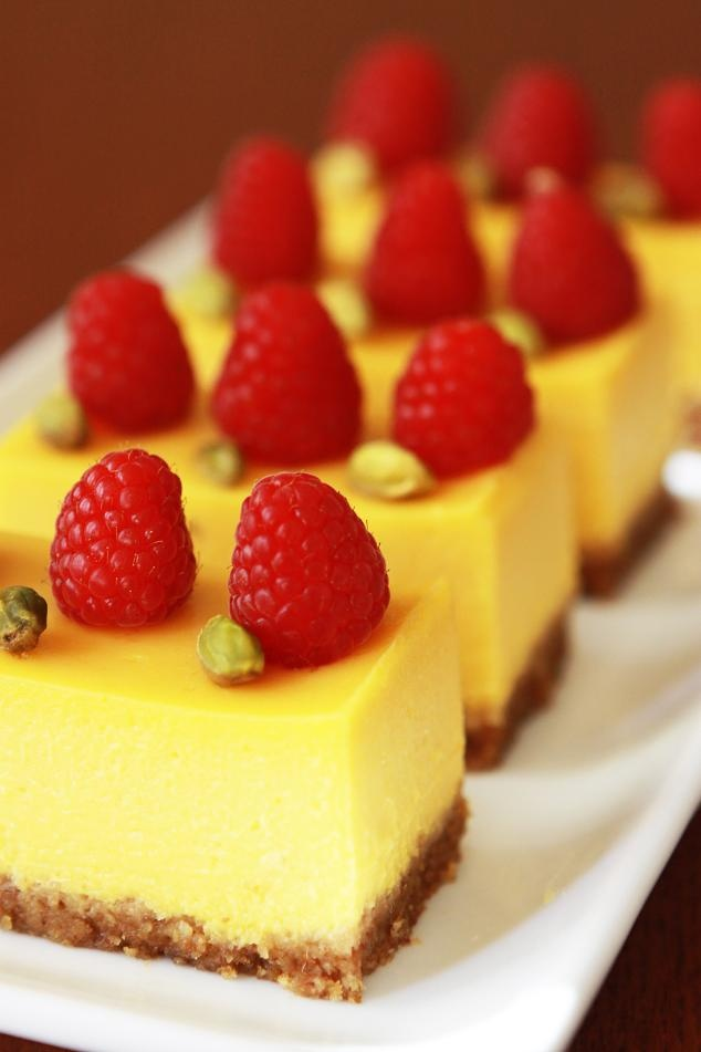 Gourmet Baking: Mango Passion Fruit Cheesecake