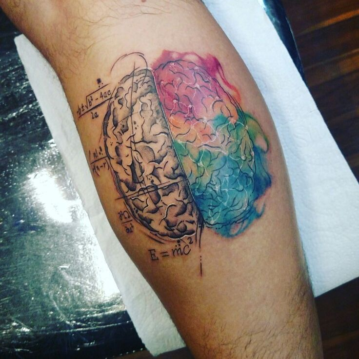 Left brain Right brain... I just loved my new Tattoo!!