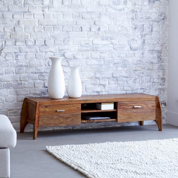 Luna Solid Sheesham TV Cabinet 150