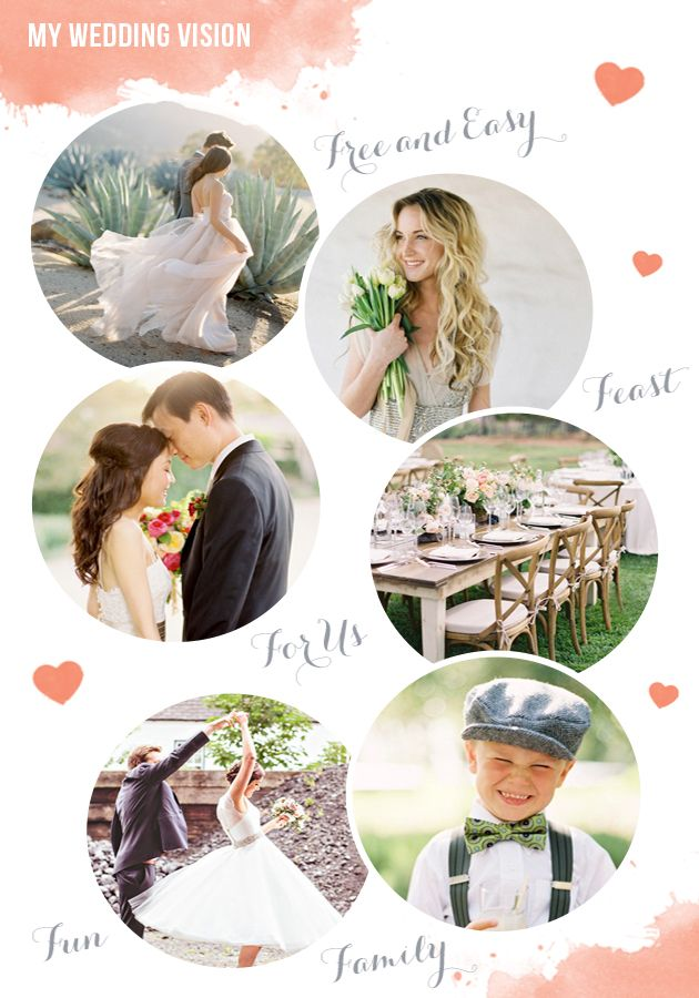 What's your wedding vision?  What do you want your wedding to look / feel like? Expert Wedding Planning Tips: Defining Your Wedding Vision by @Pocketful of Dreams