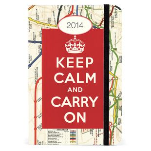 Keep Calm and Carry On all year long!
