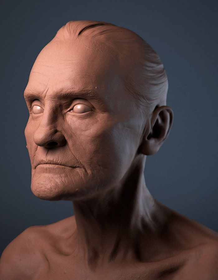 ArtStation - Head sculpt, Daniel Crossland