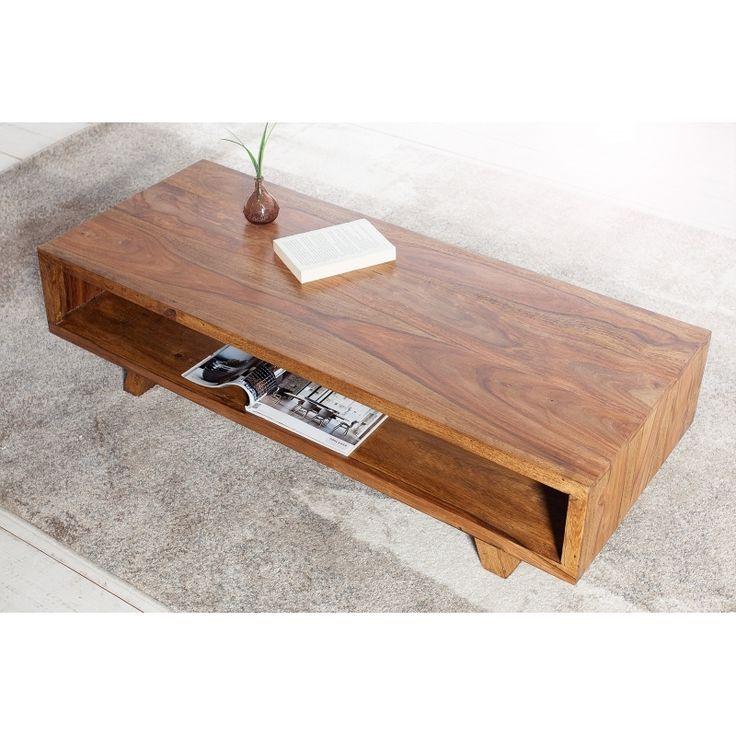 INV Konferenční stolek SAIGON 100cm Sheesham: Moderní konferenční stolek v retro stylu s praktickou otevřenou policí na odložení různých předmětů. Tento konferenční stolek je vyroben přírodních materiálů a jde o jedinečnou ruční práci, proto všechny...