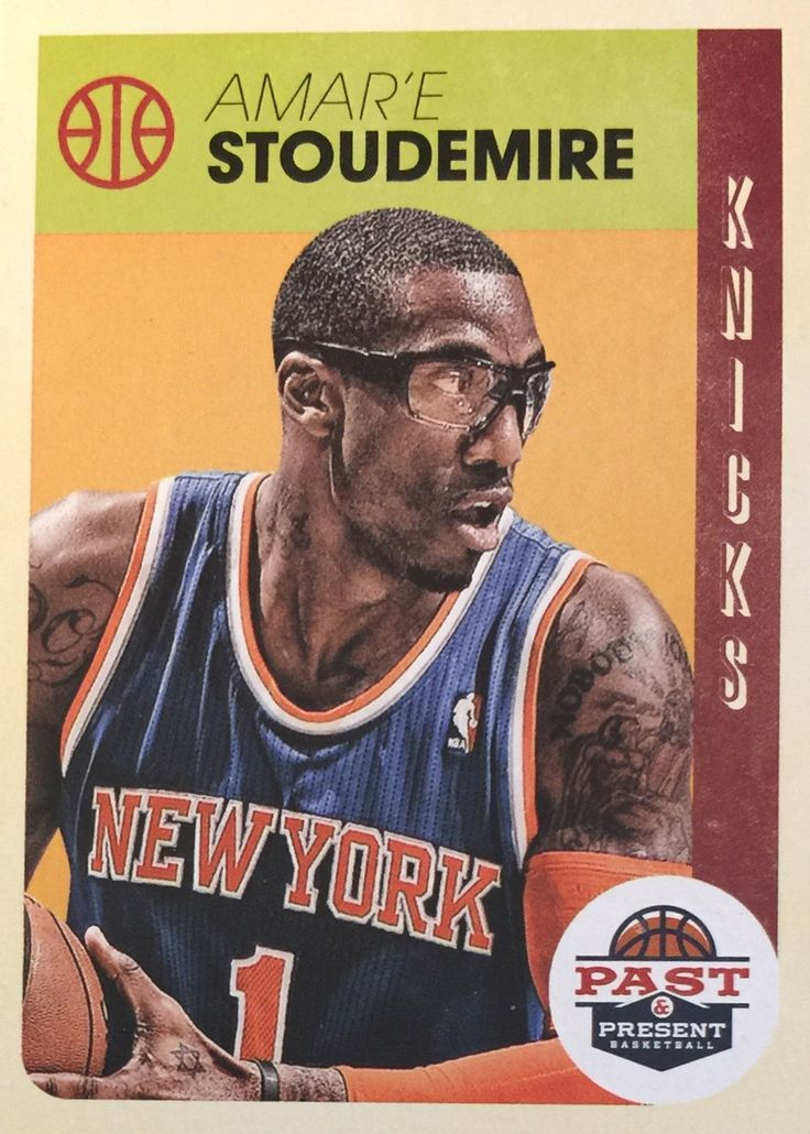 2012-13 Past and Present #3 Amar'e Stoudemire