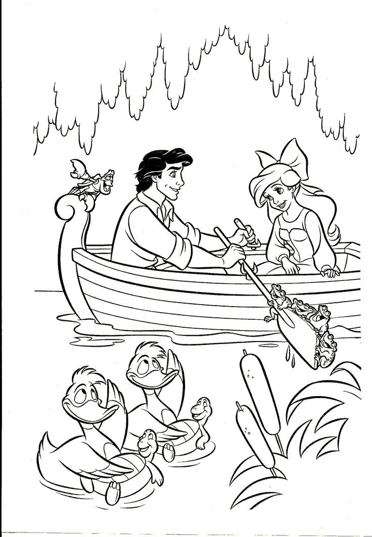 47 best Coloring Pages - Little Mermaid images on Pinterest ...