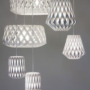 Showroom Finland Pilke lights