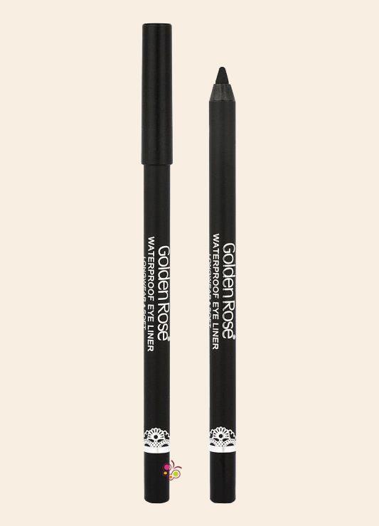 GOLDEN ROSE Waterproof Eyeliner Longwear and Soft Ultra Black Yumuşak Sürümlü Göz Kalemi