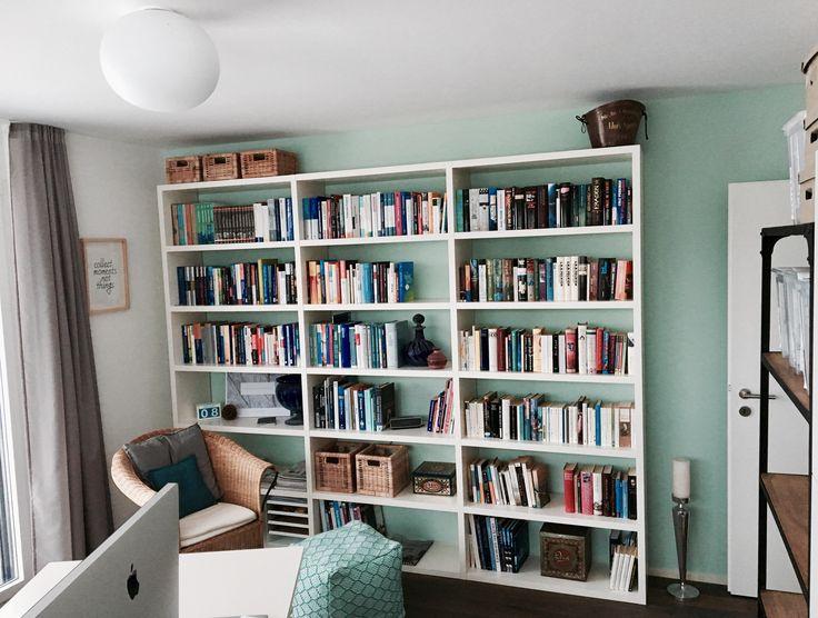b cherregal einr umen m bel design idee f r sie. Black Bedroom Furniture Sets. Home Design Ideas