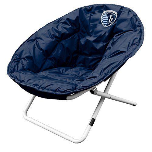 MLS Sporting Kansas City Sphere Chair, Medium by Logo Inc. MLS Sporting Kansas City Sphere Chair, Medium. Medium.