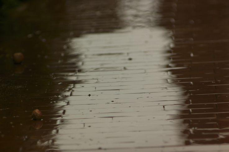 Pioggia sul rosso