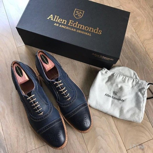 ALLEN EDMONDS STRANDMOK IN NAVY