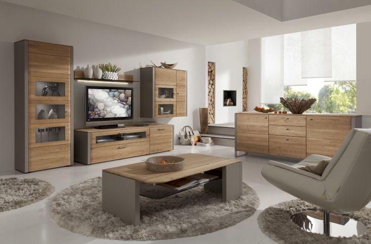 #Gwinner #Couchtisch #Lack #seidenmatt #Asteiche #massiv - Möbel Mit www.moebelmit.de