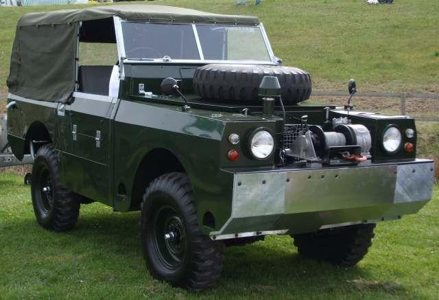 prototype One-Ton Amphibious Land Rover