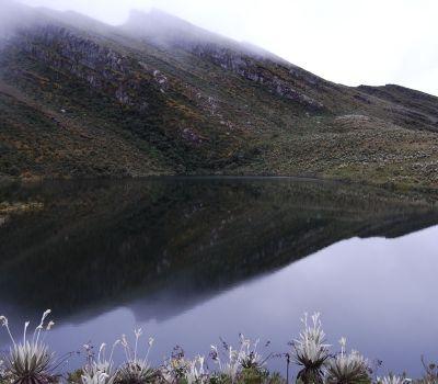 Parque Nacional Natural Chingaza, se localiza entre bogota y meta