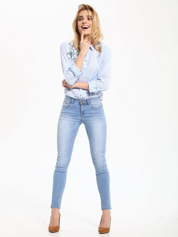 Top Secret S027489 LightBlue Trousers