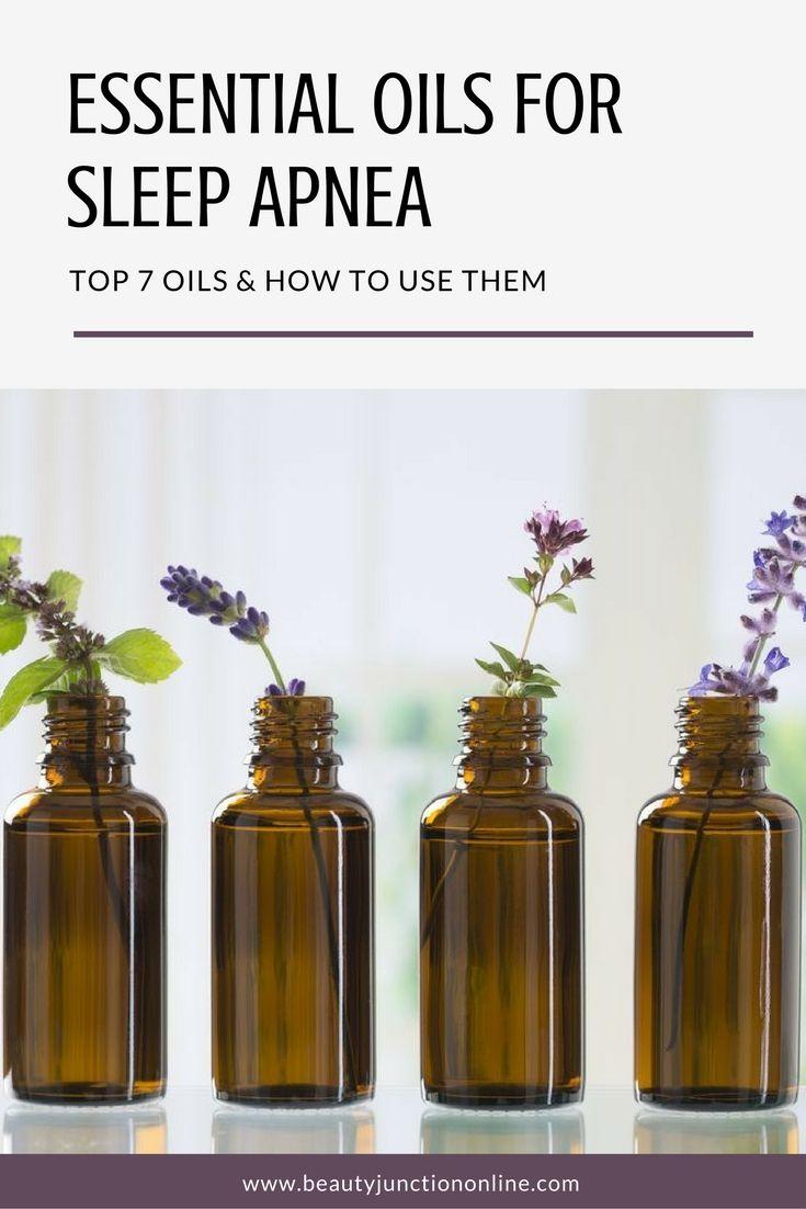 essential oils for sleep apnea - thyme,  marjoram,  eucalyptus,  peppermint,  geranium,  lavender, valerian