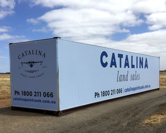 The complete guide to Shipping Container Signage!