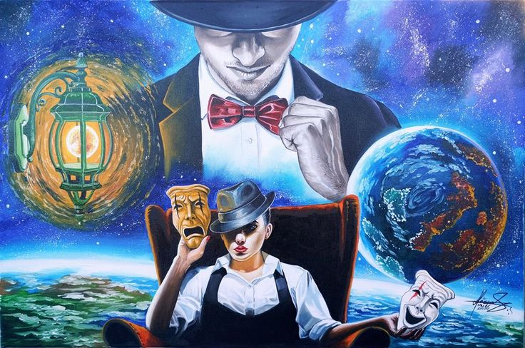 """DONE!!!  """"With...or Without!"""" Oil on canvas - Size: 40 x 60 cm  #AdrianMihaiRaceanu #surrealism #art"""