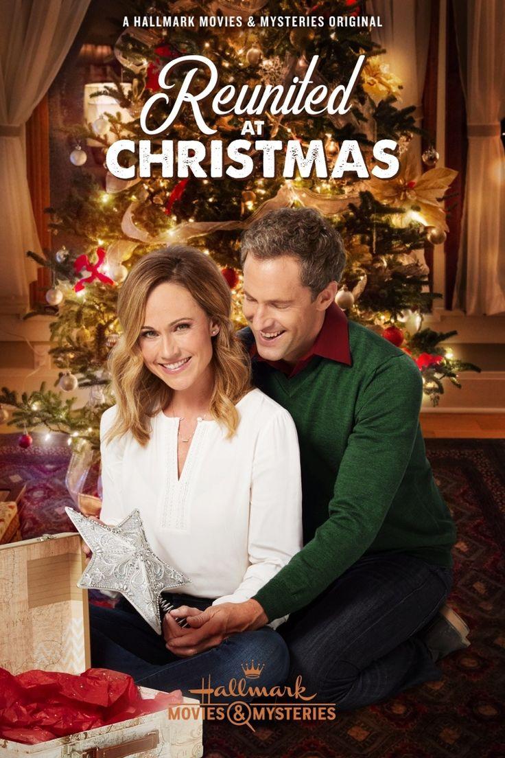 Hallmark Movie Fanatics — Reunited at Christmas - poster Starring Nikki...   Christmas movies ...
