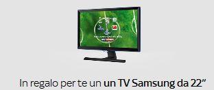 """Sky Italia: In regalo un TV Full HD 22"""" se ti abboni online"""