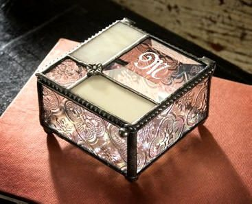 622 best Stained Glass Boxes images on Pinterest Jewel box Glass