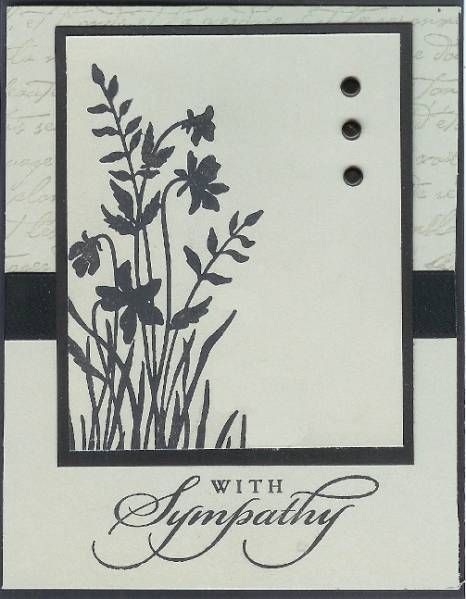 Just Believe Sympathy by Galtreas - Cards and Paper Crafts at Splitcoaststampers