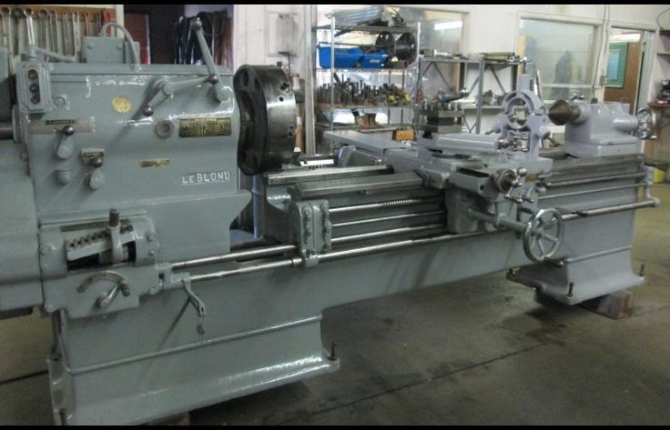 "20/42"" x 72/120"" Leblond Sliding Gap Lathe located in SLC Utah @ Machinery Consultants Inc"