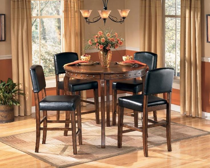 469 99 Ashley Lakota Birch Pub Table W 4 Chairs D226 223