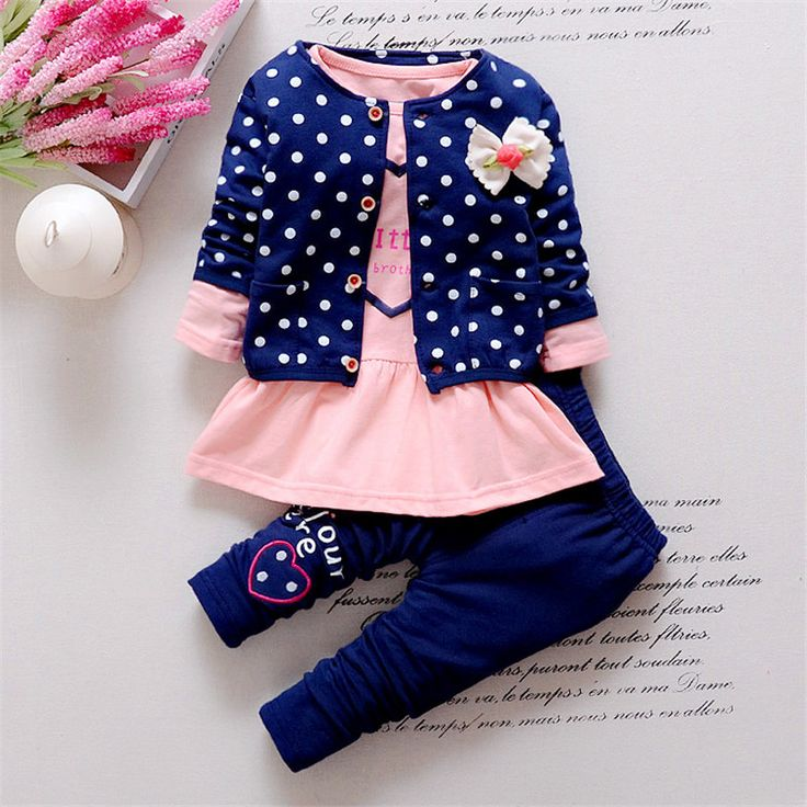 3pcs Girls Cute Cotton Clothes   Price: $19.86 & FREE Shipping   #shopweluv
